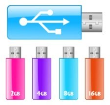 usb flash drives for digital information storage