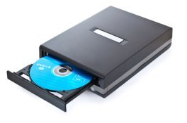 cd and dvd burner for recording optical discs