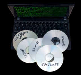 CD copyright laws exist for content on audio CDs. Similar laws exist for movies on DVDs and Blu-ray discs.