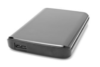 An external hard disk drive. The best hard disk crash recovery procedure is to prevent hard disk drive failure in the first place.