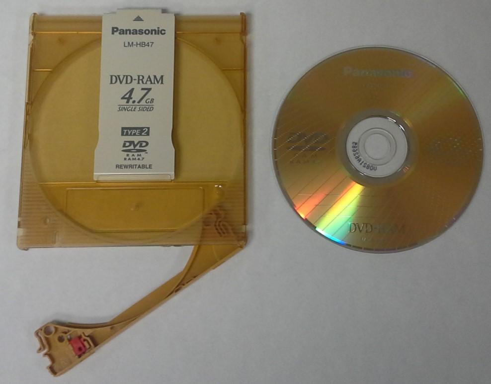 DVD RAM Disks