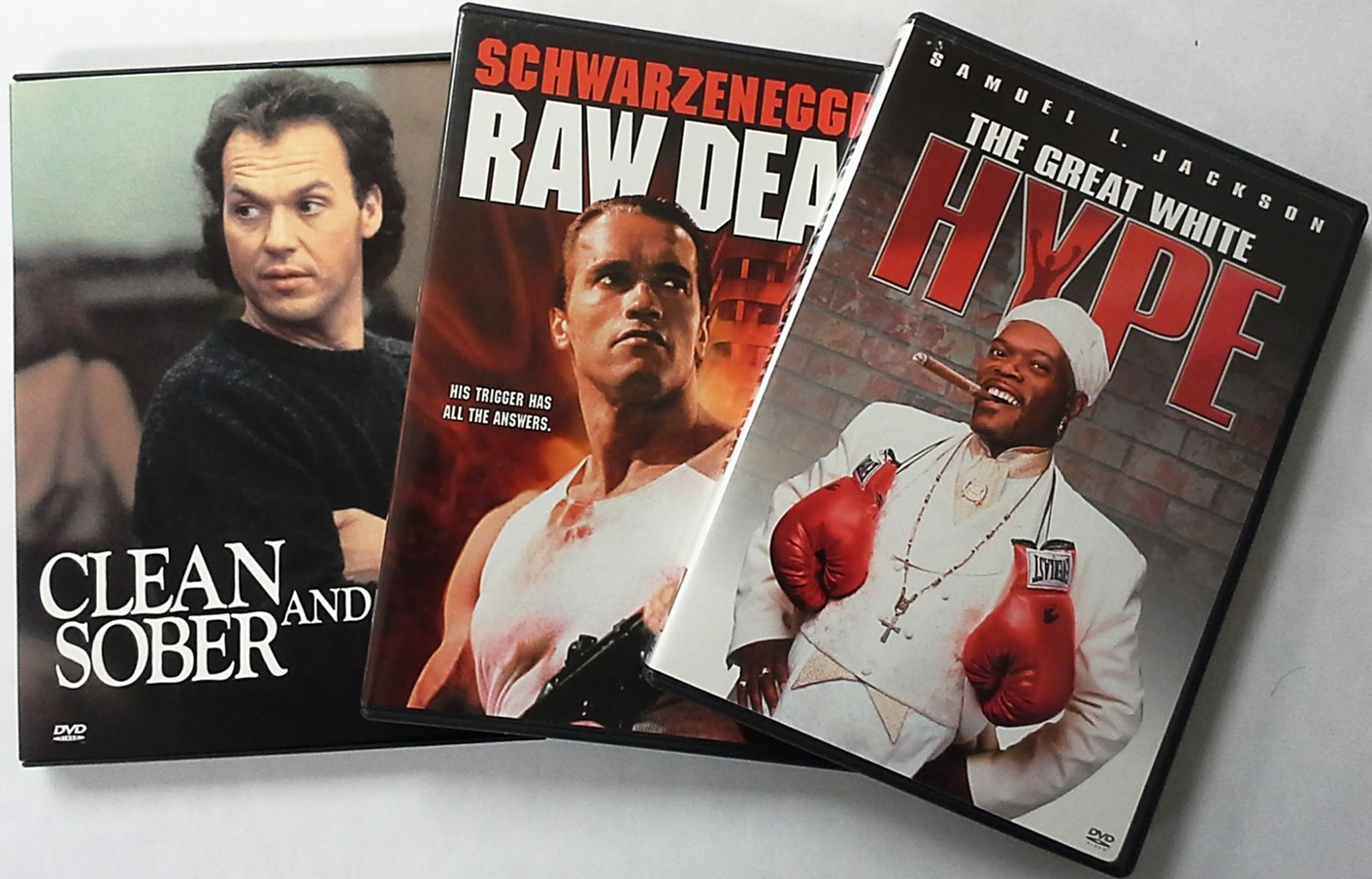 DVD movies new releases such as Clean and Sober, Raw Deal, and The Hype, can be found on a variety of website sites like Moviefone, Rotten Tomatoes, or Metacritic.