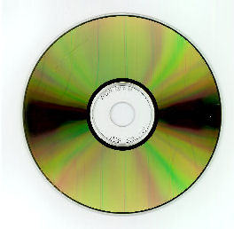 archival recordable CD or gold CD with phthalocyanine dye and gold metal layer
