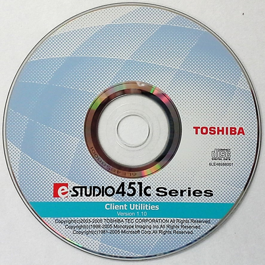 A CD-ROM disc containing software.