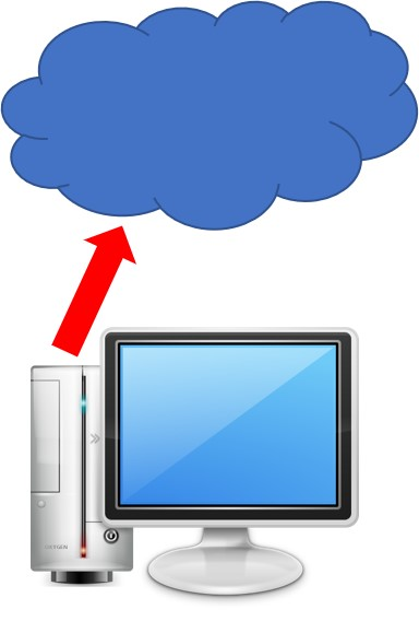 Storing computer stored data in the cloud. Because of costs, upload and download times, and security issues, storing your computer files with cloud storage companies may not be the best option.