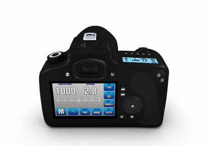 A digital SLR camera for taking quality digital photographs.