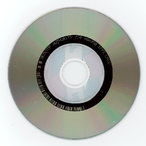 An 8 cm mini CD ROM used for promotion and advertising.
