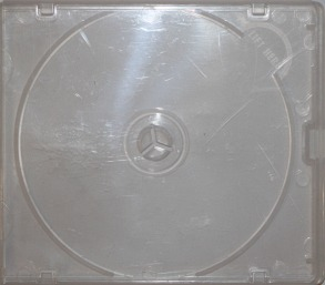 A one piece more durable polypropylene jewel case for disc storage. This case provides better protection for the disc, especially when handled frequently.