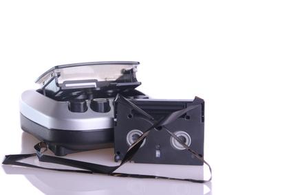 vhs videotape rewinding machine