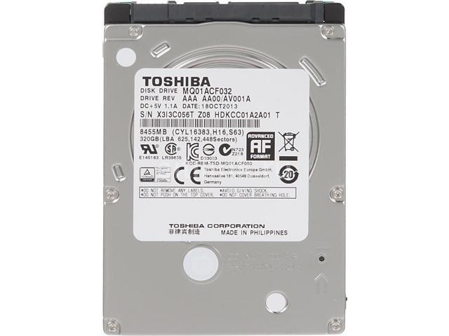 picture of a Toshiba internal hard disk drive