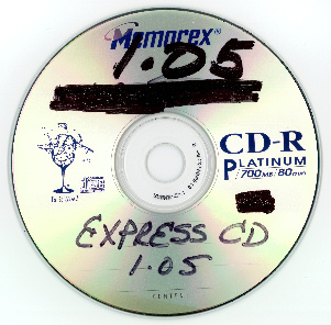 Writing with marker on the top surface of a CD-R or other type of optical disc is generally not recommended. It can lead to deterioration and damage of the disc layers underneath.