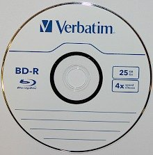 BD-R or Blu-ray recordable disc with inorganic