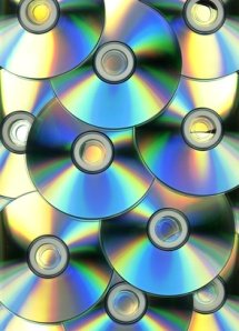 compact disk for digital scrapbooking storage
