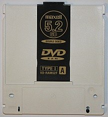 a DVD-RAM disc is a type of erasable DVD