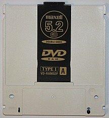 a DVD-RAM disc is a type of erasable DVD