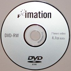 DVD-RW or an erasable and rewriteable DVD