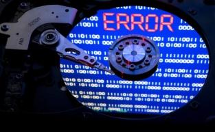 hard drive crash leads to errors